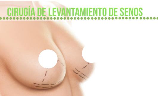 Cirugía de levantamiento de senos en  Medellín
